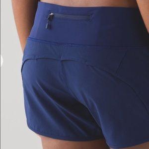 """LIKE NEW Lululemon Run Times Shorts 4"""""""